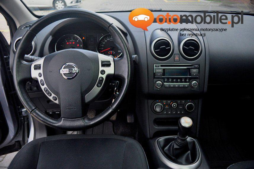 Nissan Qashqai 4x4 diesel, Salon PL, I właściciel, bezwypadkowy, panoramiczny dach - Używany 1995cm3. Srebrny Mazowieckie/Warszawa