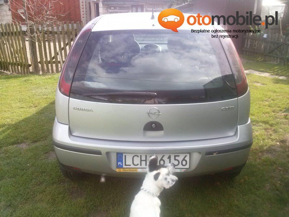 Opel Corsa C 1.3 diesel, garażowany - Używany 1300cm3. Srebrny Lubelskie/Sawin