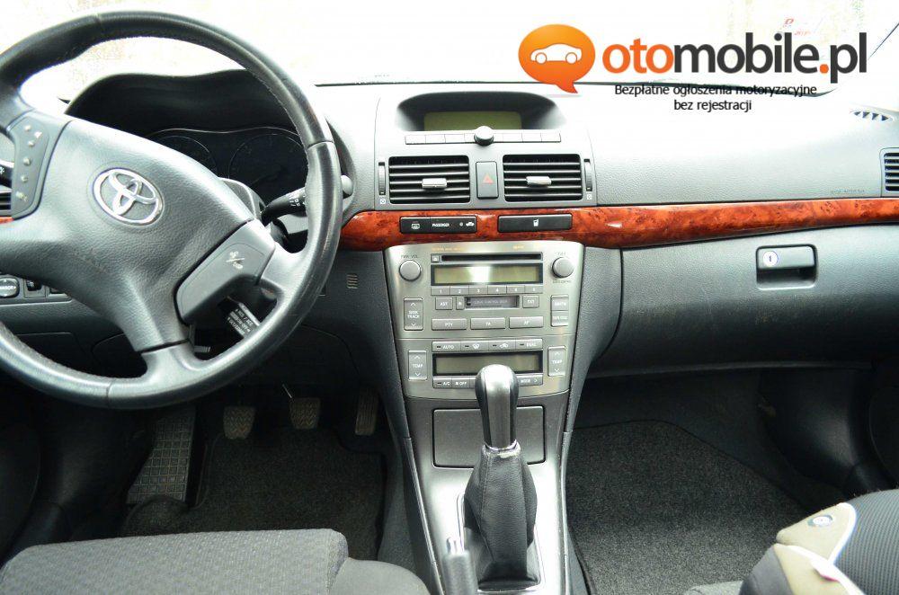 Toyota Avensis 2.0 D-4D Executive - Używany 1995cm3. Srebrny Dolnośląskie/Wroclaw