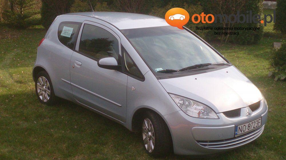 Sprzedam Mitsubishi COLT 1,3 KLIMA, zadbany - Używany 1332cm3. Srebrny Warmińsko-mazurskie/Olsztyn