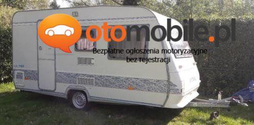 Przyczepka kempingowa Adria - Używany cm3. Śląskie/Studzienice