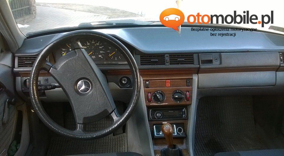 Mercedes W124 - 2.0 diesel / 85 KM / 1991r - Używany 2000cm3. Kujawsko-pomorskie/Brodnica
