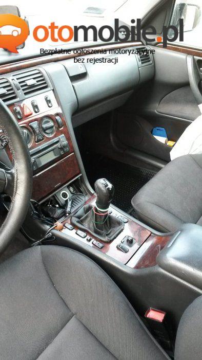 Sprzedam mercedesa E 220 CDI - Używany 2200cm3. Zielony Lódzkie/Zduńska Wola