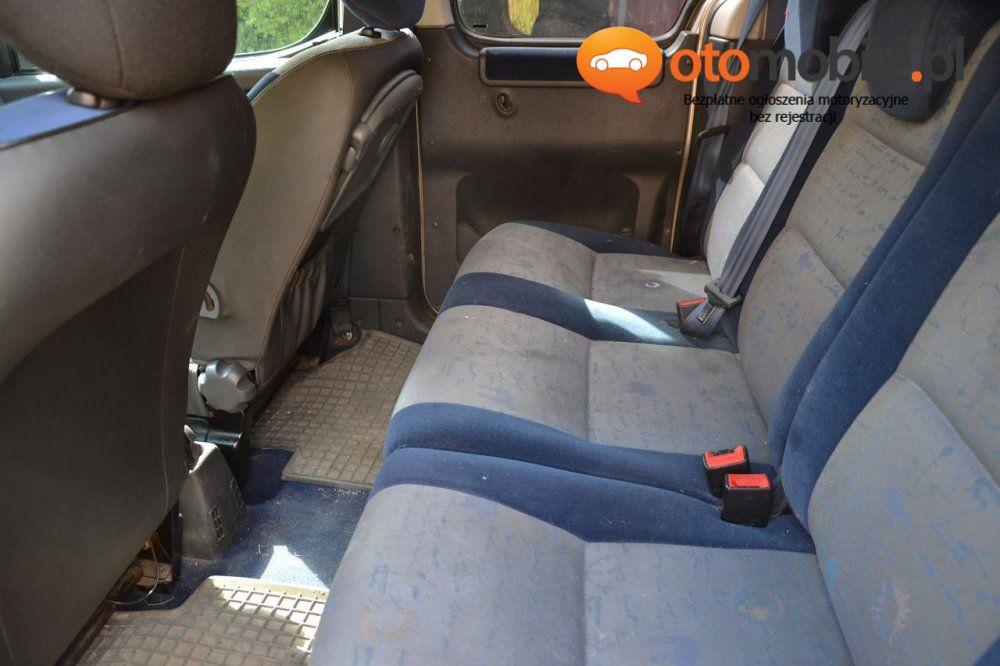 Citroen Berlingo 2.0 HDI DIESEL 89KM 2003r. - Używany 1997cm3. Srebrny Wielkopolskie/Mosina