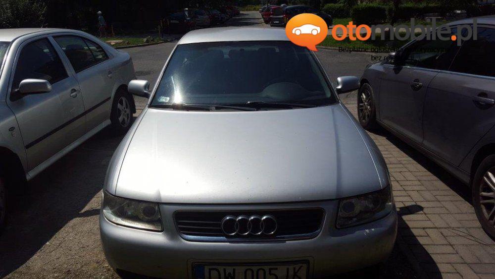 Audi A3 1,9TDI 2002r. - Używany 1900cm3. Srebrny Dolnośląskie/Wrocław