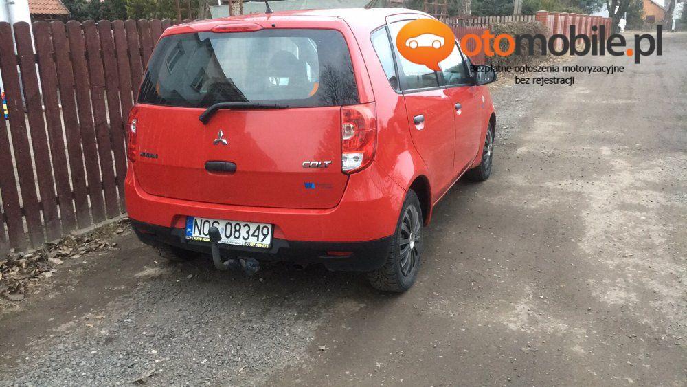Sprzedam Mitsubishi - Używany 1300cm3. Czerwony Warmińsko-mazurskie/Ostróda