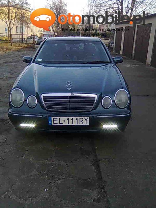 Sprzedam samochód osobowy MERCEDES E 220 CDI - Używany 2200cm3. Zielony Lódzkie/Zduńska Wola