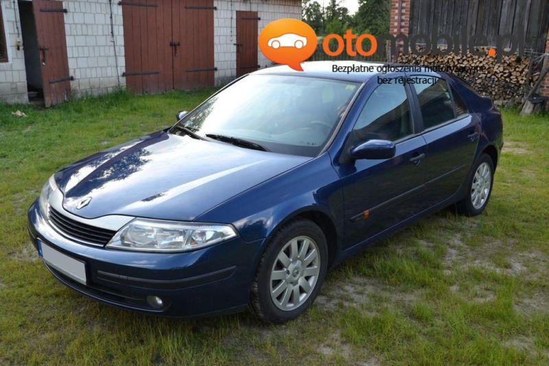 Renault Laguna 1.9DCI DIESEL 107KM 2002r. - Używany 1870cm3. Granatowy Lubelskie/Trzciniec