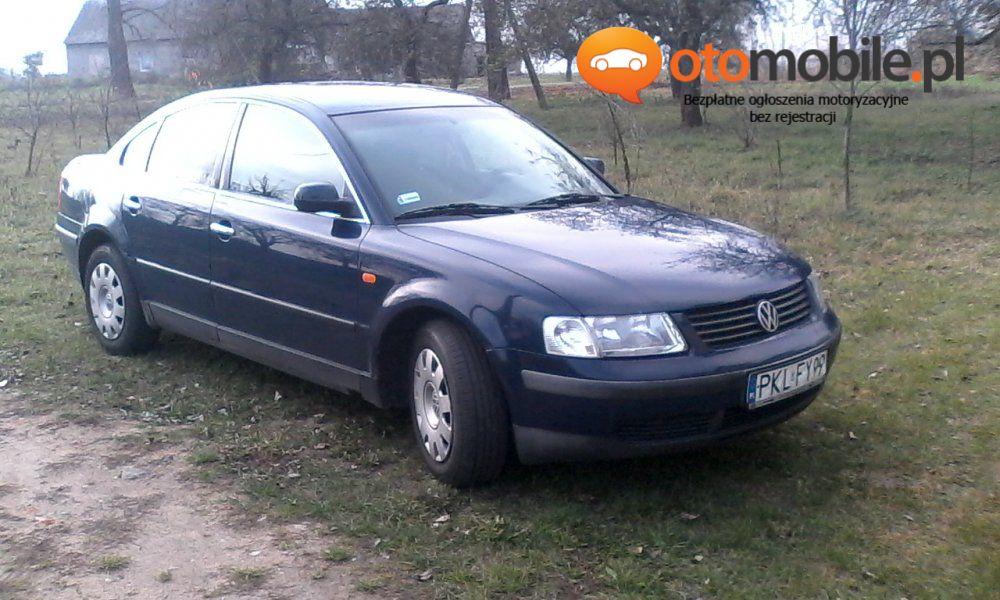 Volkswagen Passat B5 1.9tdi Sedan Klimatronik - Używany 1900cm3. Granatowy Wielkopolskie/Koło