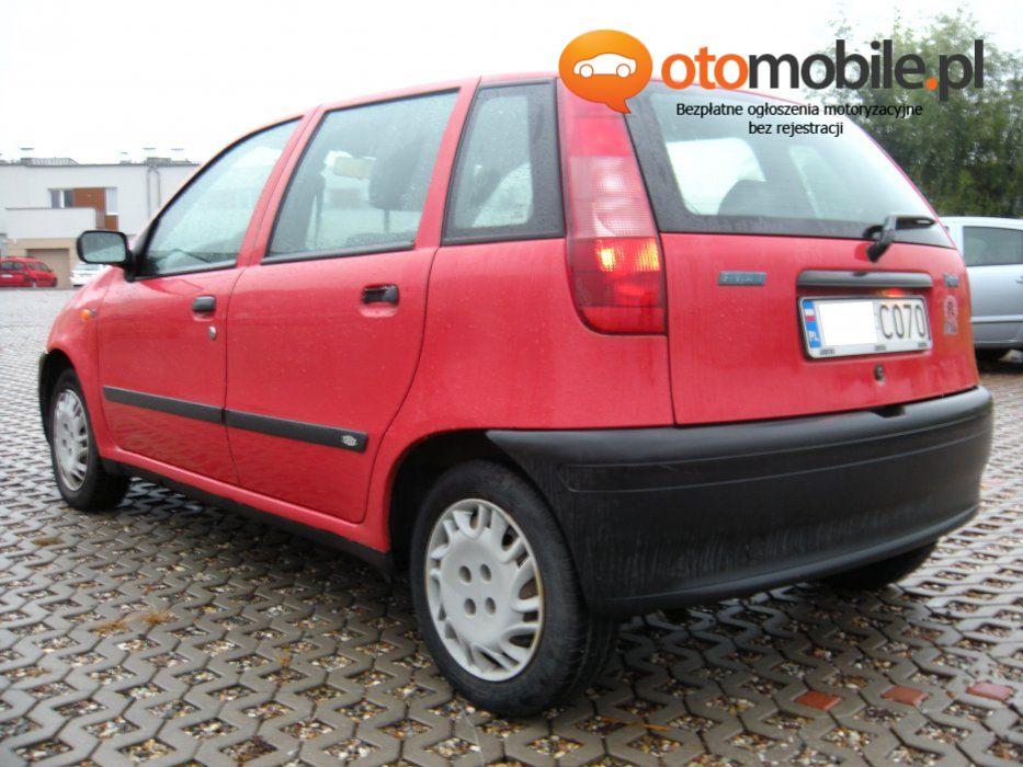Poznań Fiat Punto 99r 12 Benzyna Sprawny Opłacony 5 Drzwi