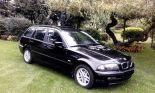 Bmw e46 318i touring 2001r. - Używany 1895cm3. Czarny Lódzkie/Skierniewice