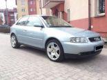 Sprzedam Audi A3 - Używany  1800cm3  2000r. hatchback benzyna+lpg 1.8l.. Niebieski Małopolskie/Kraków