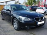 BMW Seria 5 E60 FL Sedan 520d 177KM - Używany 2000cm3. Czarny Mazowieckie/Płock