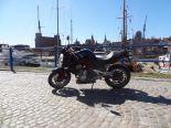 Kawasaki ER6 N w bardzo dobrym stanie - Używany 650cm3. czarny Pomorskie/Gdańsk