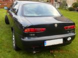 Alfa Romeo 156, 1.8 TS, 1999r, klimatyzacja, poduszki pow., alufelgi, grafit metalic, pierwszy właściciel od nowości !