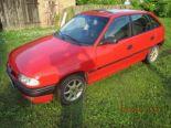 Sprzedam Opel Astra - Używany  1600cm3  1995 r. Hatchback Benzyna. Czerwony Wielkopolskie/pleszew