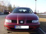 Sprzedam Seata Leona z 2000/2001r - Używany 1896cm3. Bordowy Dolnośląskie/Czanków