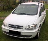 Opel Zafira 2005r, 2,2 DTI 125 KM CLIMATRONIC - Używany 2198cm3. Biały Małopolskie/Kamienica