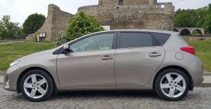 Toyota Auris II stan superidealny, najbogatsze wyposażenie, nawigacja, szklany dach, skórzane elementy - Używany 1600cm3. Śląskie/Będzin