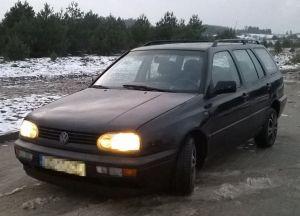 VW Golf Kombi - 1.9 SDI / 65 KM / 1997r - Używany 1900cm3. Czarny Kujawsko-pomorskie/Brodnica