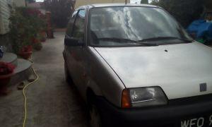 Sprzedam Fiat Cinquecento 704. PIERWSZY WŁAŚCICIEL. Komplet kół zimowych gratis. - Używany cm3. Srebrny Mazowieckie/Raszyn